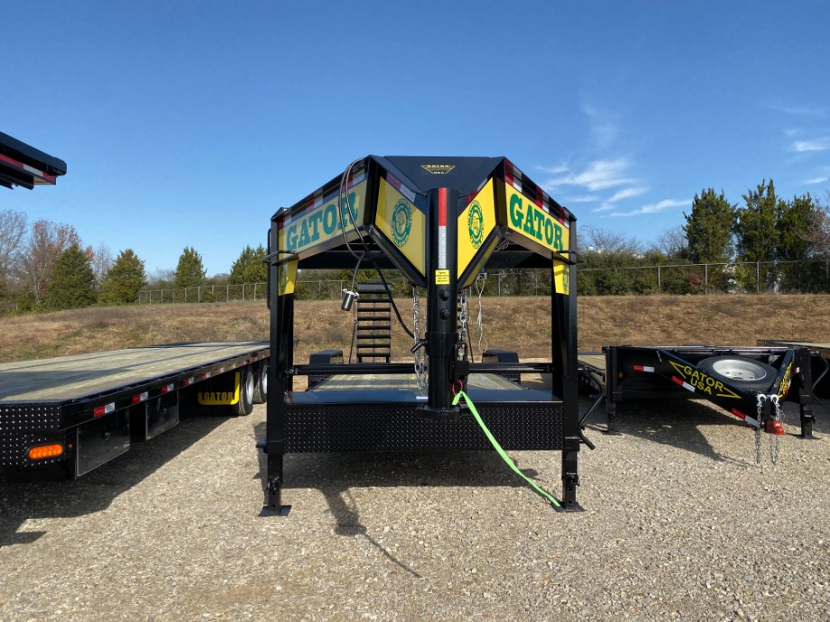 Low Profile Gooseneck Trailer For Sale | 16K GVWR Gooseneck Trailer  Gatormade Trailers