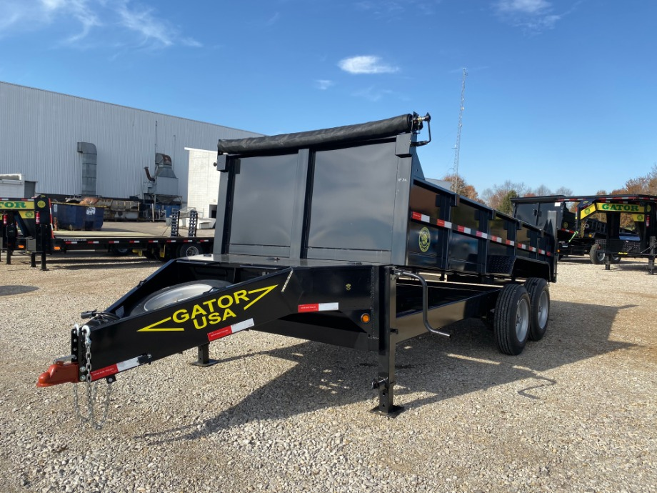 Gatormade Aardvark Dump Trailer | Gatormade 16k Dump Trailer On Sale For $10,595 Gatormade Trailers