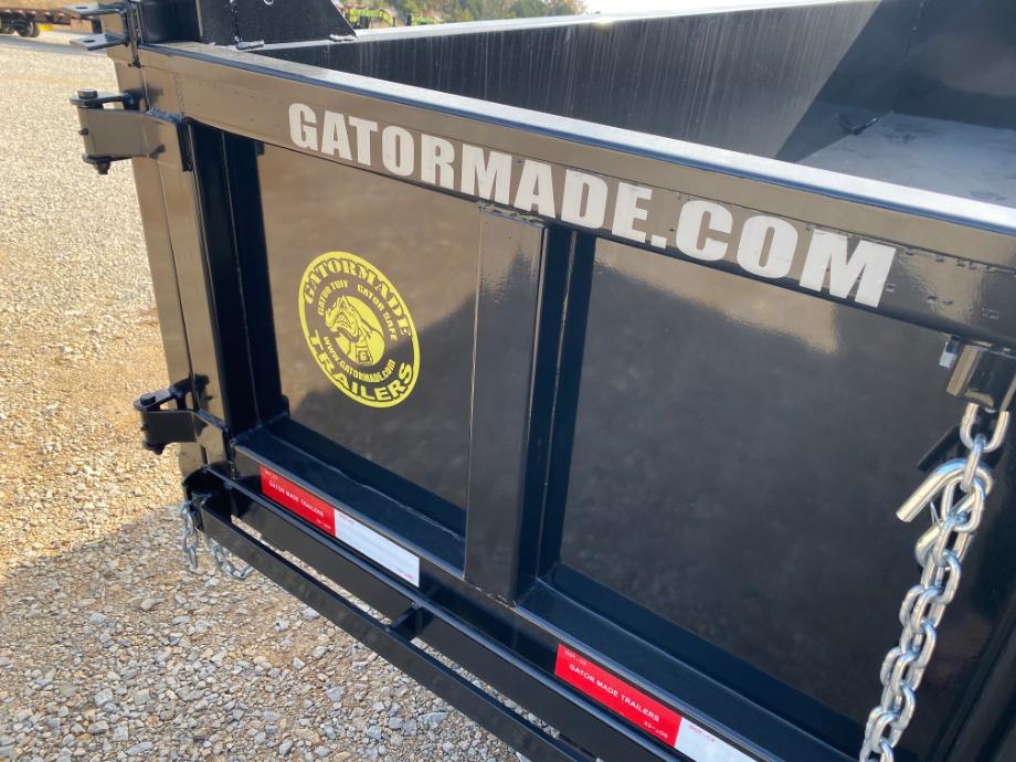 Gatormade Aardvark Dump Trailer   Gatormade 16k Dump Trailer For Sale Gatormade Trailers