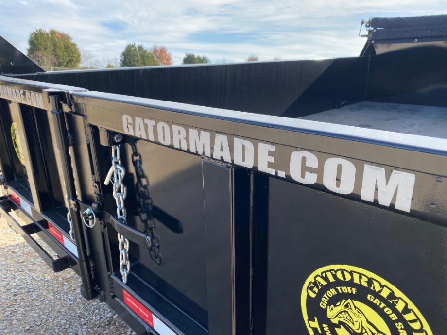 Gatormade Aardvark Dump Trailer | Gatormade 16k Dump Trailer For Sale Gatormade Trailers