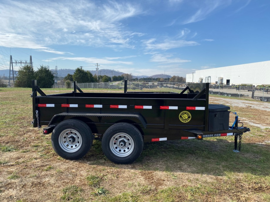 Dump Trailer On Sale | 6x10 Dump Trailer For Sale At Gatormade Trailers Gatormade Trailers
