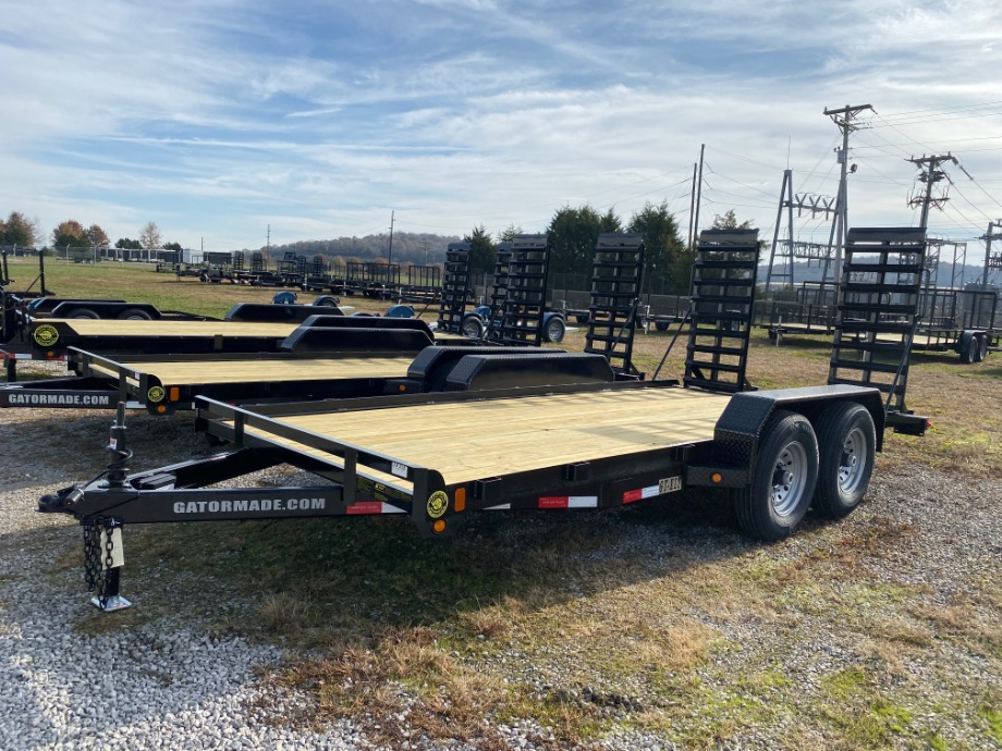 Equipment Trailer On Sale | 2020 Equipment Trailer 14,000 Pound Gatormade Trailer Sale For  $2,995 Gatormade Trailers