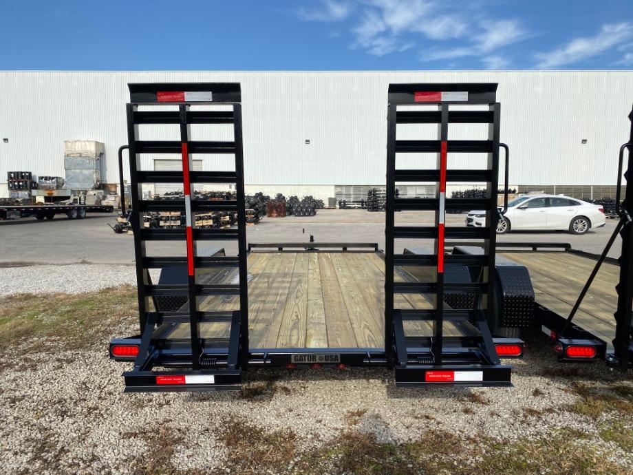 Equipment Trailer For Sale | 14,000 Pound Gatormade Trailer For Sale Gatormade Trailers