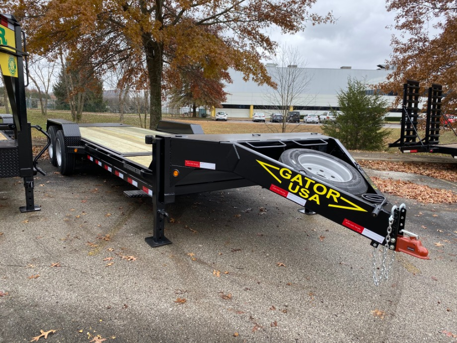 Tilt Bed Equipment Trailer On Sale At Gatormade Trailers  Gatormade Trailers
