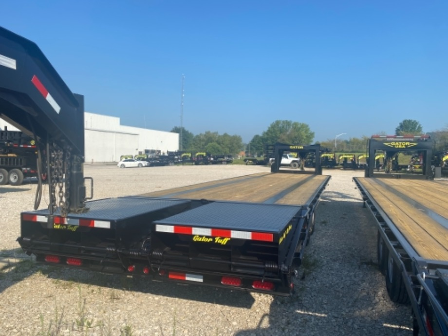Rent to Own Gooseneck Trailer Non-CDL Gatormade Trailers
